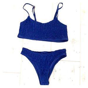 Mosmann Australia navy blue bikini